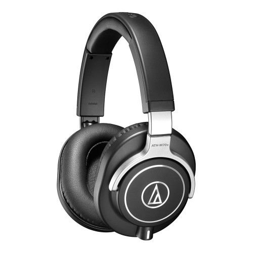 Audio-Technica ATH-M70x Professzionális monitor fejhallgató FEKETE ... 3a528ccaee