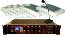 100V-os hangosító szett max. 10 helyiség számára