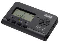 Korg GA2 gitár hangoló, nagyobb LCD kijelző, 200 óra működés telepről