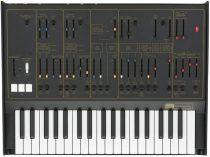 KORG ARPODYSSEYREV2,Duofónikus analóg szintetizátor, 37 slim billentyű, 2VCO, fekete szín, arany feliratok