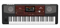 KORG PA700, professzionális kíséretautomatikás szintetizátor, 61 billentyű, hangszóró, MP3 lejátszó, video out, 1GB PCM