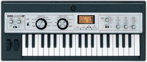 KORG microKORG XL+ virtuál-analóg szintetizátor/vokóder, 37 Natural Touch  mini billentyű, megnövelt PCM tár