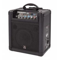 """Proel FREE8LT, akkumulátoros, aktív kétutas hangfal, 8"""", 20WRMS, 2Mic/Line és 1 sztereó be-,1 kimenet, média player LCD-vel"""