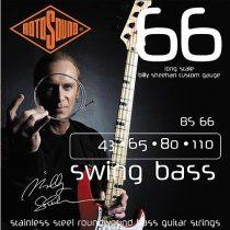 Rotosound basszusgitár húrkészlet, rozsdamentes acél, 43 65 80 110 — BILLY SHEEHAN SET