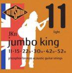 Rotosound akusztikus gitár húrkészlet, foszfor-bronz, 11 15 22 30 42 52