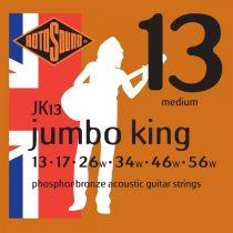 Rotosound JK13 akusztikus gitár húrkészlet, foszfor-bronz, 13 17 26 34 46 56
