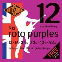 Rotosound nikkel elektromos gitár húrkészlet, medium heavy, 12 16 24 32 42 52
