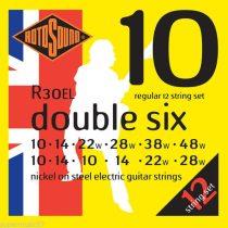 Rotosound Nikkel 12 húros elektromos gitár húrkészlet, 10 double six