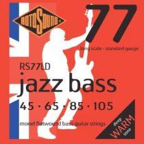Rotosound basszusgitár húrkészlet, Monel, köszörült, 45 65 85 105