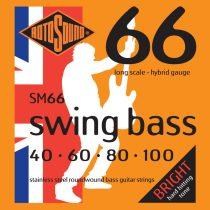 Basszusgitár húrkészlet, rozsdamentes acél, hybrid, 40 60 80 100