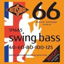 Rotosound basszusgitár húrkészlet, rozsdamentes acél, 5 húr, 40 60 80 100 125