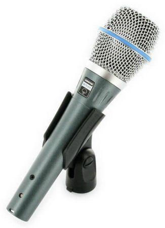 Shure BETA87A Kondenzátor vokálmikrofon