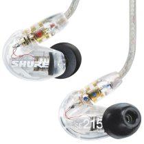 Shure SE215-CL-EFS Fülhallgató, cserélhető kábel