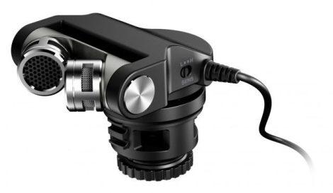 TASCAM TM-2X Külső sztereó mikrofon DSLR fényképezőgépekhez