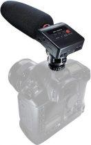 Tascam DR-10SG,DSLR Puskamikrofonnal egybeépített memóriakártyás rögzítő, Micro SD/SDHC (max. 32GB) monó WAV rögzítés