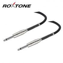 Roxtone 6,3mm mono jack - 6,3mm mono jack készkábel, 5m