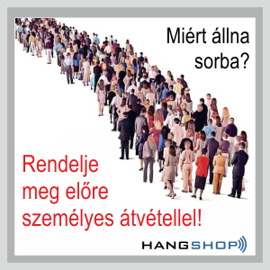 HANGSHOP, a Hangáruház webshopja