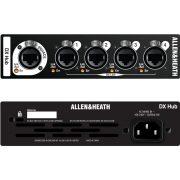 Allen&Heath DXHUB, DX port bővítő, 1x gigaACE port, 4x DXport