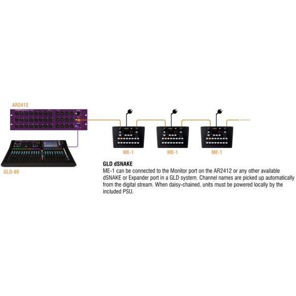 Allen&Heath ME-1 40 csatornás személyi monitor kezelőfelület