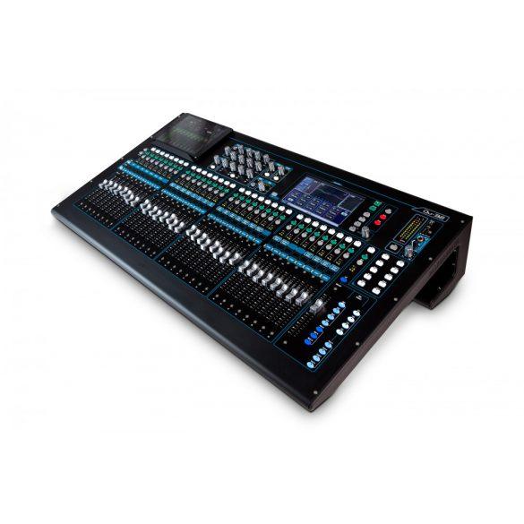 Allen&Heath QU32, 32 monó mic/line, 3 sztereó bemenet, analóg és AES/EBU főkimenet, 10 aux