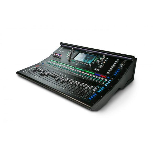 Allen&Heath SQ-6 digitális keverőpult, 24 beépített előerősítő, 24+1 faders, 48 csatorna / 36 bus mix, 96kHz