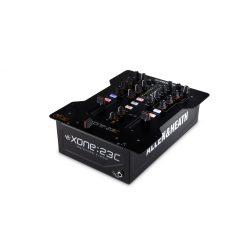 Allen&Heath XONE 23C 2+2 sztereó csatornás professzionális DJ keverő (beépített hangkártyával)