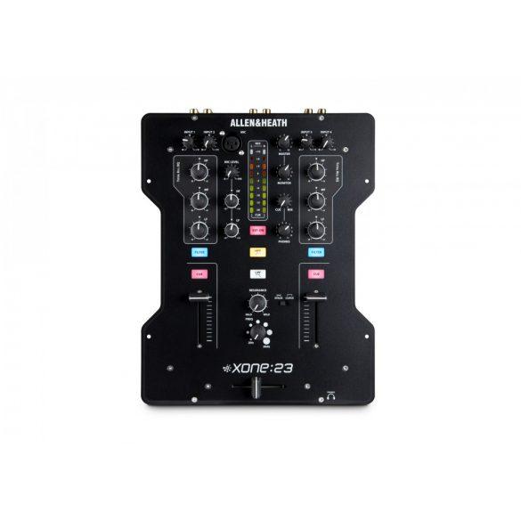 Allen&Heath XONE 23, 2+2 csatornás professzionális DJ keverő