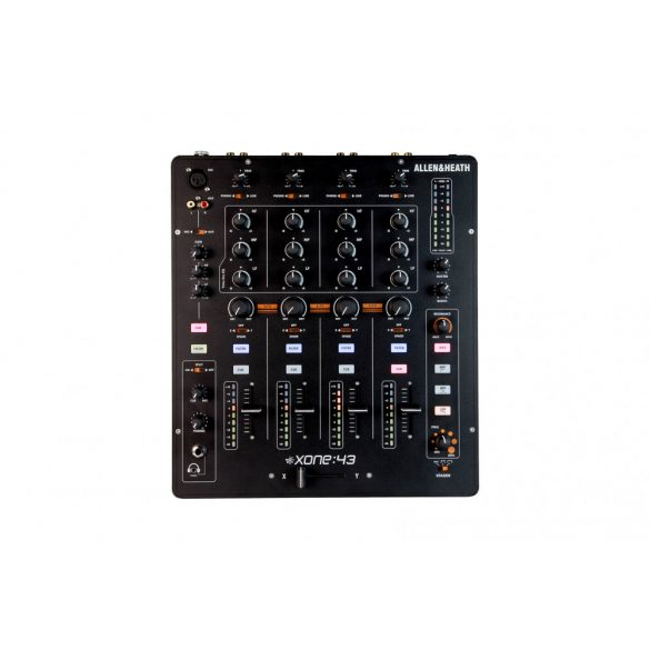 Allen&Heath XONE 43, professzionális, 4 + 1 csatornás, analóg DJ-keverő