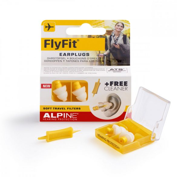 Alpine FlyFit - Szűrős füldugó utazáshoz