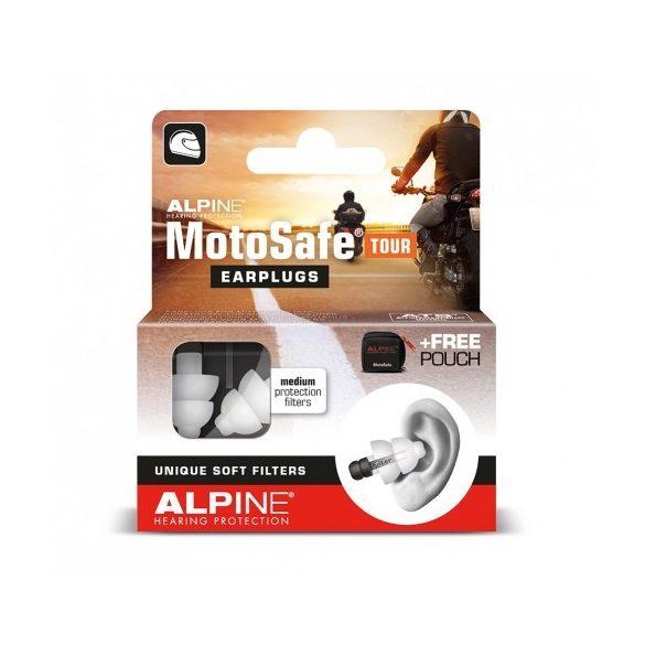 Alpine MotoSafe Tour - Szűrős füldugó motorosoknak