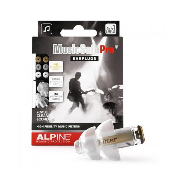 Alpine MusicSafe Pro - Szűrős füldugó zenészeknek, DJ-knek