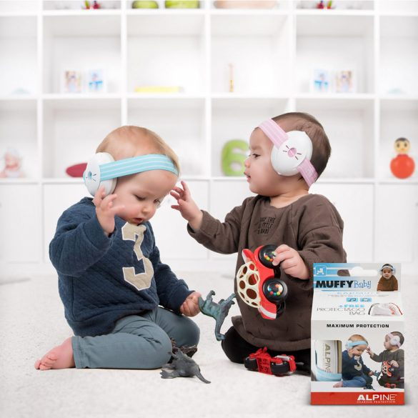 Alpine Muffy Baby Hallásvédelem csecsemőknek - Kék