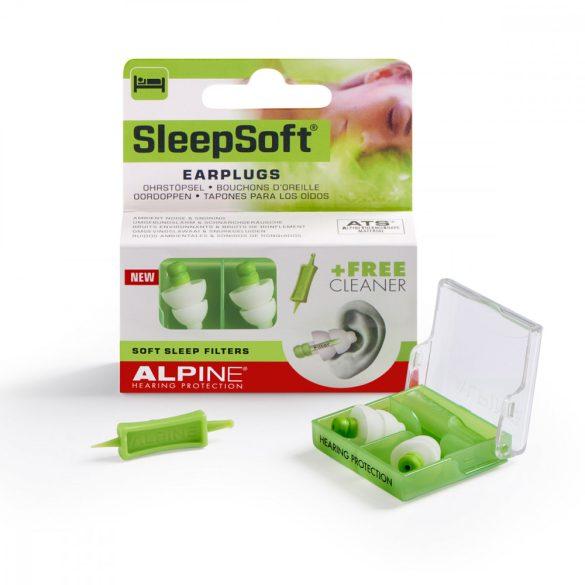 Alpine SleepSoft - Füldugó alváshoz, tanuláshoz