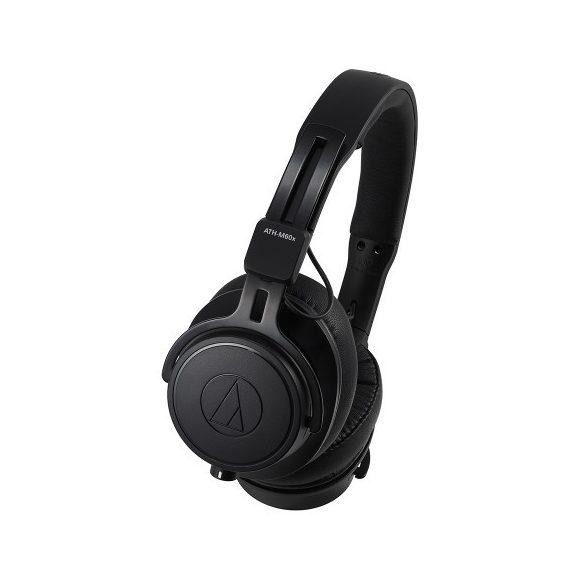 Audio-Technica ATH-M60x professzionális on-ear fejhallgató