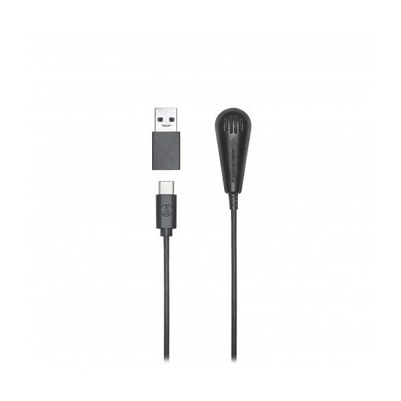 Audio-Technica ATR4650USB, kondenzátor határfelület / klipsz mikrofon USB C/A csatlakozóval