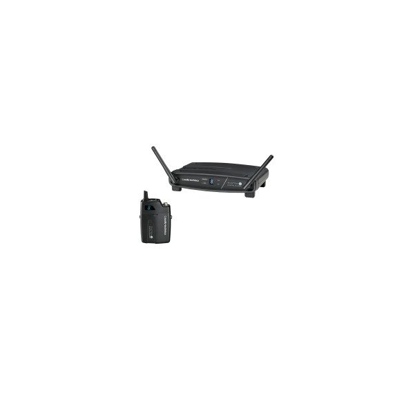 Audio-Technica ATW-1101 System10 vezetéknélküli digitális zsebadós készlet, mikrofon nélkül.