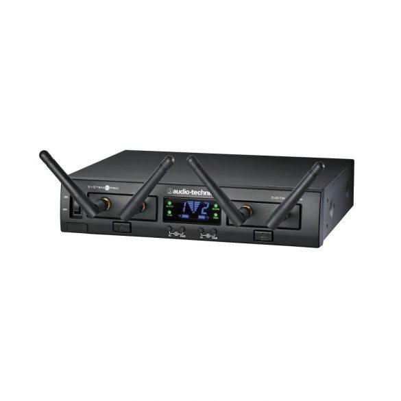 Audio-Technica ATW1312 System 10 PRO kétcsatornás készlet egy kéziadóval és egy zsebadóval, mikrofon nélkül