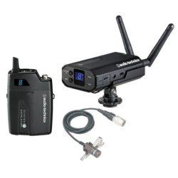 Audio-Technica ATW-1701P1, System10 kameravevős szett zsebadóval, AT829cW kardioid klipsz mikrofonnal