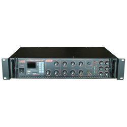 Castone CPA-180C 180W-os 100V-os keverő erősítő MP3 lejátszóval, rádió tunerrel,Bluetooth