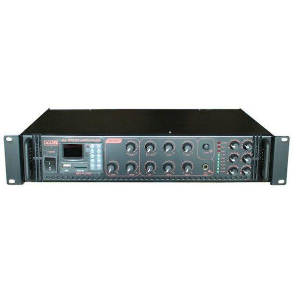 Castone CPA-180C 180W-os 100V-os keverő erősítő MP3 lejátszóval, rádió tunerrel
