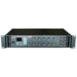 Castone CPA-250C 250W-os 100V-os keverő erősítő MP3 lejátszóval, rádió tunerrel