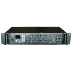 Castone CPA-60C 60W-os 100V-os keverő erősítő MP3 lejátszóval, rádió tunerrel,Bluetooth