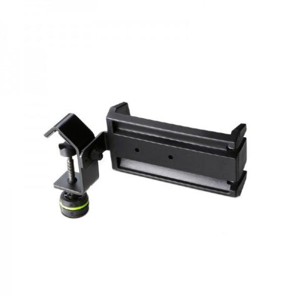 Gravity HPHMS 01 B – mikrofonállvány oszlopára szerelhető fejhallgató tartó