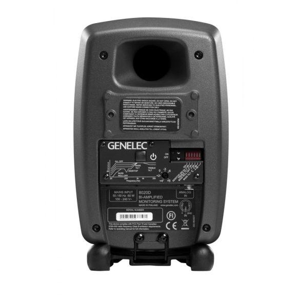 Genelec 8020DPM Kompakt, kétutas aktív közeltéri monitor, matt fekete