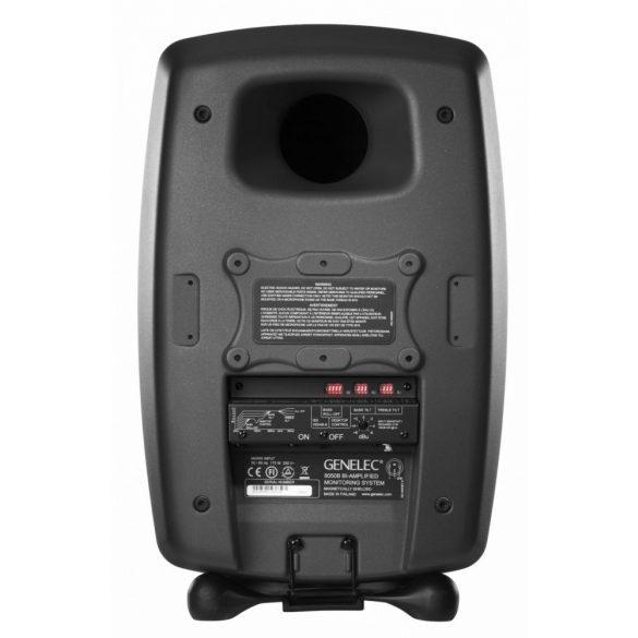 Genelec 8050BPM kétutas stúdiómonitor matt fekete színben