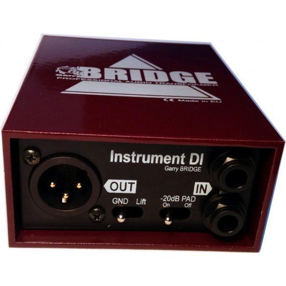 Garry BRIDGE Instrumental DI dual DI-BOX (sztereo)