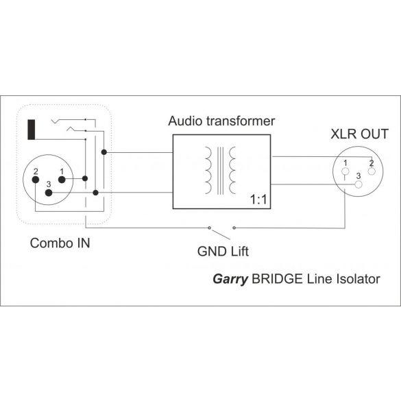 Garry BRIDGE Line Isolator DI-BOX (mono)