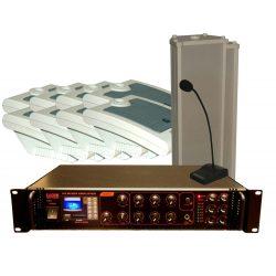 100V-os hangosító szett max. 20+2 helyiség számára