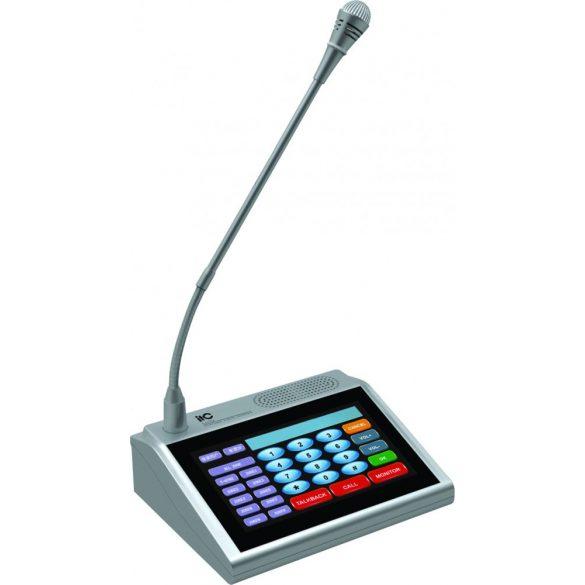 ITC T6702A IP alapú Audio hálózat bemondópult érintőképernyővel