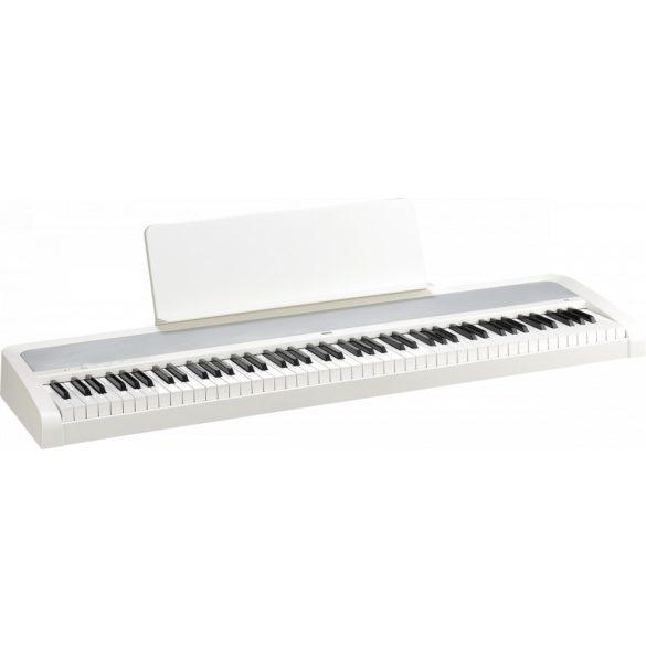 KORG B2 fehér digitális zongora, 88 billentyű, kalapácsmechanika, USB midi és audio, fehér